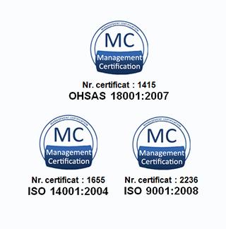 Certificate de calitate-Axtrom