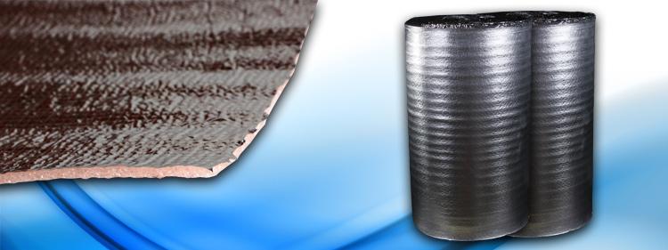 Folie PEE aluminizata pentru izolare parchet