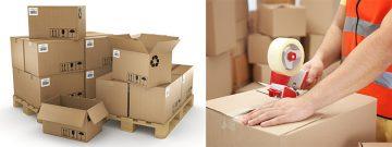 Ambalarea în cutii de carton