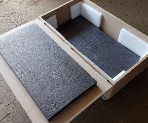 Cutie pentru transport produsa de Axtrom
